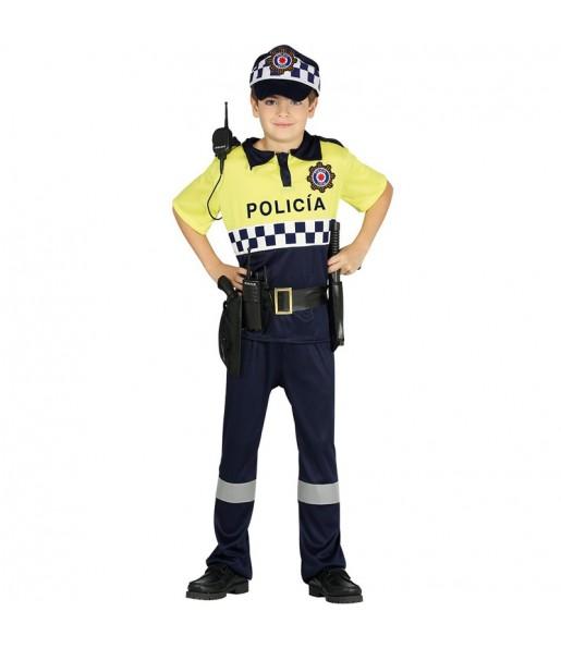 Disfraz de Policía Municipal para niño