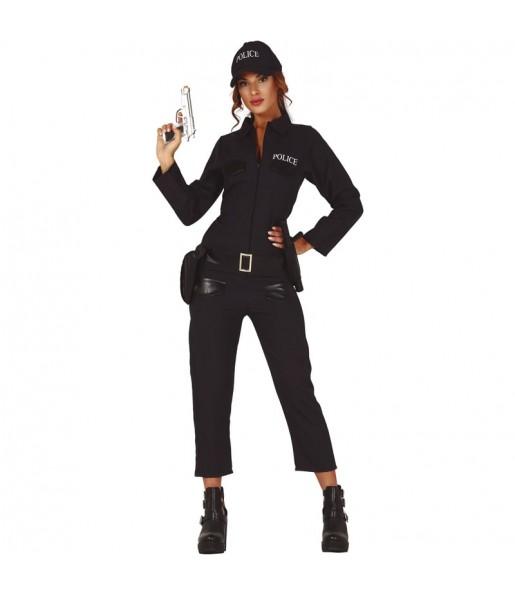 Disfraz de Policía Nacional para mujer