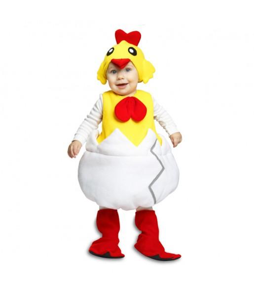 Disfraz de Pollito Calimero para niño