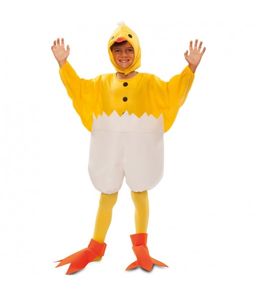 Disfraz de Pato Cascarón infantil