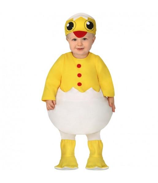 Disfraz de Pollito Huevo para bebé