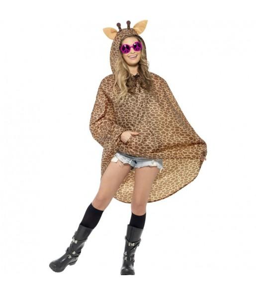 Disfraz de Jirafa Poncho Impermeable