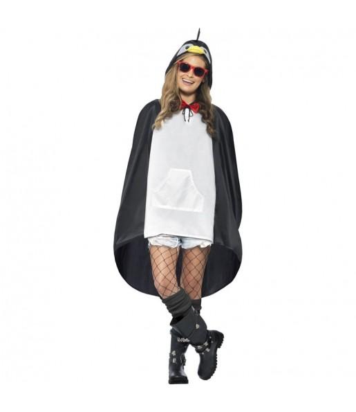 Disfraz de Pingüino Poncho Impermeable