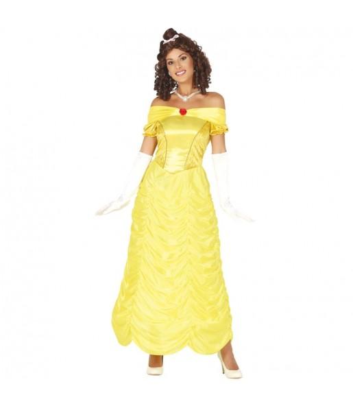 Disfraz de Princesa La Bella para mujer