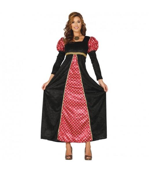 Disfraz de Princesa Medieval de la Corte para mujer