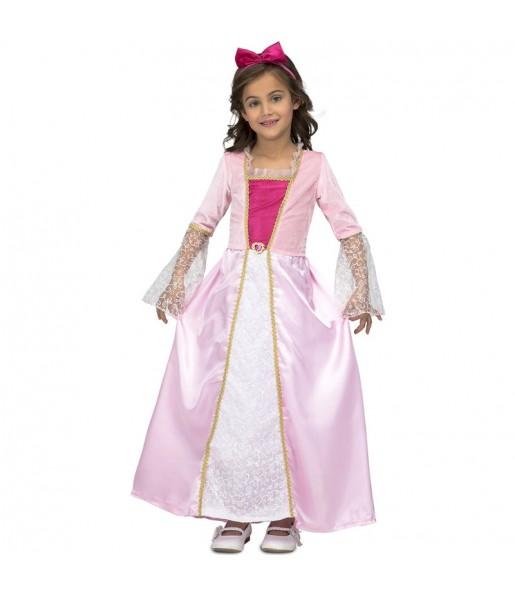 Disfraz de Princesa Rosa Estrellas