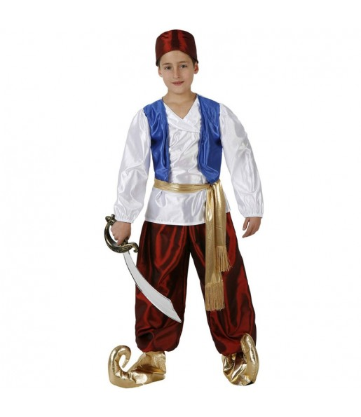 Disfraz de Príncipe Aladdin para niño