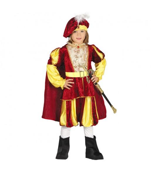 Disfraz de Príncipe Cuento para niño