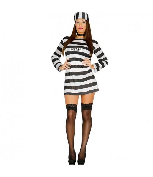 Disfraz de Prisionera barato para mujer