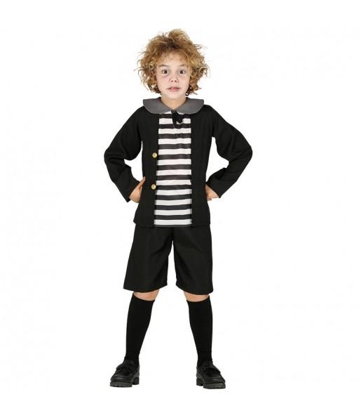 Disfraz de Pugsley Addams para niño