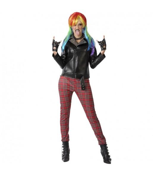 Disfraz de Chica Punk