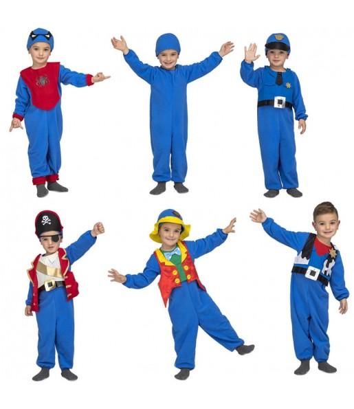 Disfraz de Quick n Fun Azul para niño