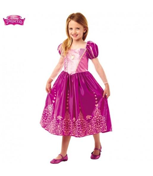 Disfraz de Rapunzel para niña
