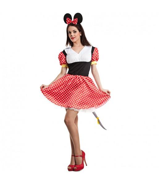 Disfraz de Ratoncita Minnie Mouse para mujer
