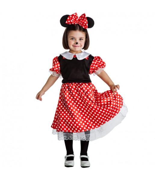 Disfraz de Ratoncita Minnie Mouse para niña