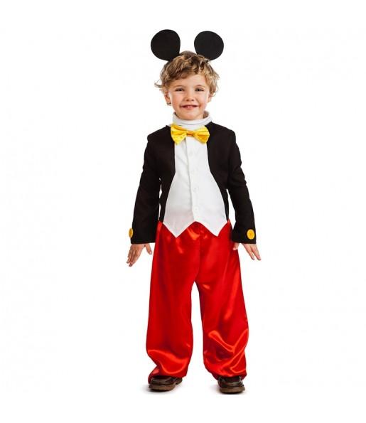 Disfraz de Ratón Mickey Mouse para niño