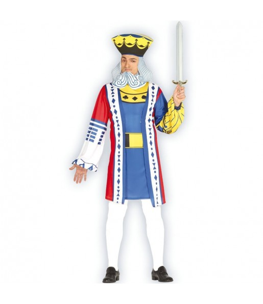 Disfraz de Rey del Póker para hombre