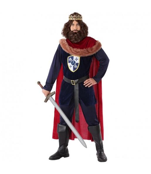 Disfraz de Rey Medieval Templario para hombre