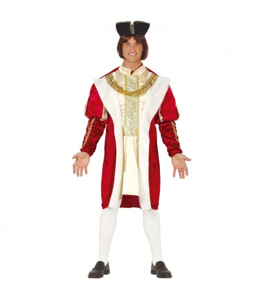Disfraz de Rey Renacentista para hombre
