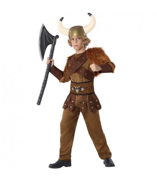 Disfraz de Rey Vikingo para niño