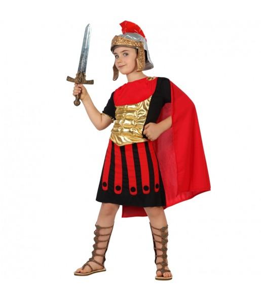 Disfraz de Romano Dorado para niño