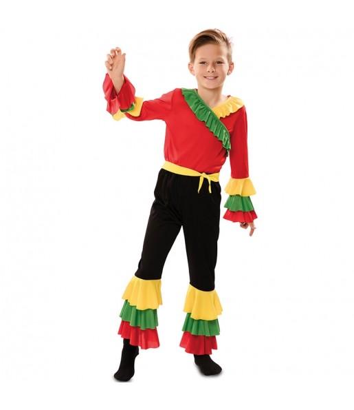 Disfraz de Rumbero Colorines para niño