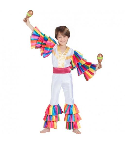 Disfraz de Rumbero Cubano para niño