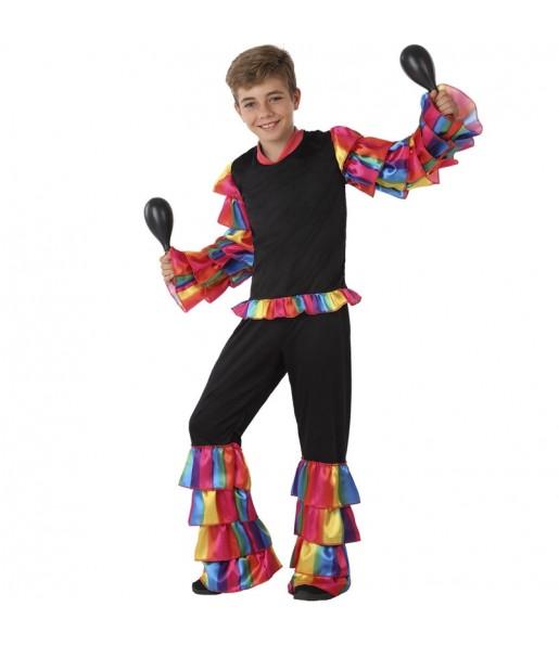Disfraz de Rumbero Multicolor para niño
