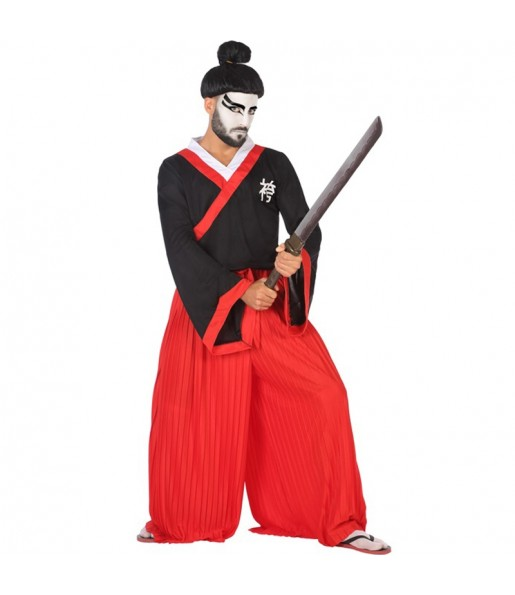 Disfraz de Samurái para hombre