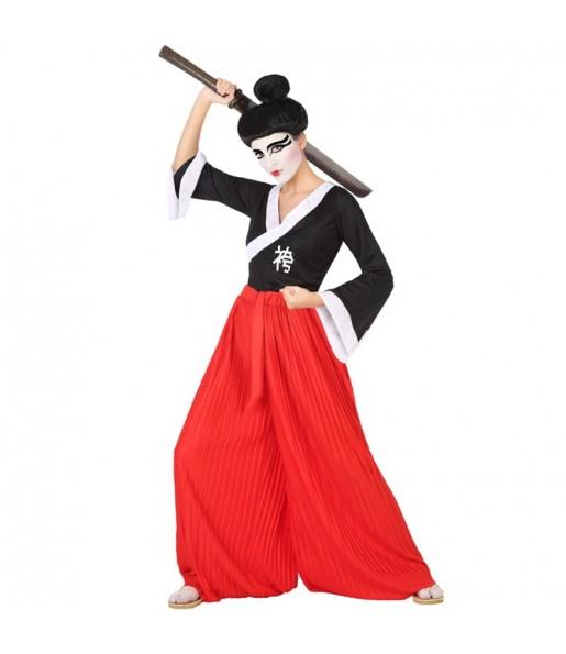 Disfraz de Samurái para mujer