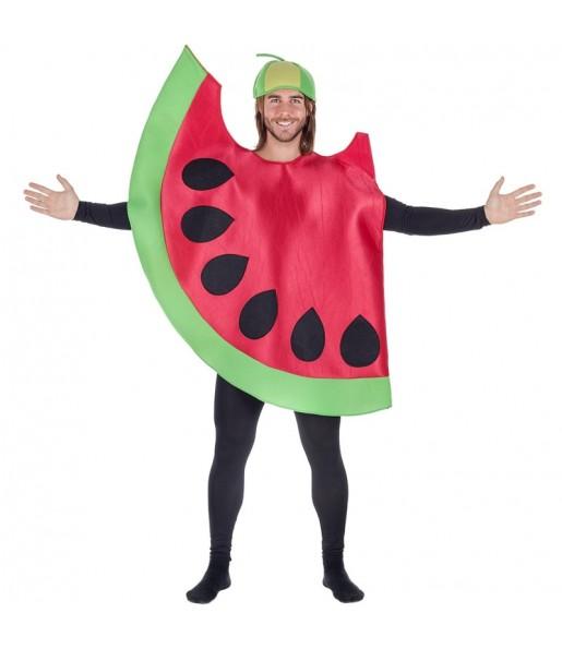 Disfraz de Sandía Roja para adulto