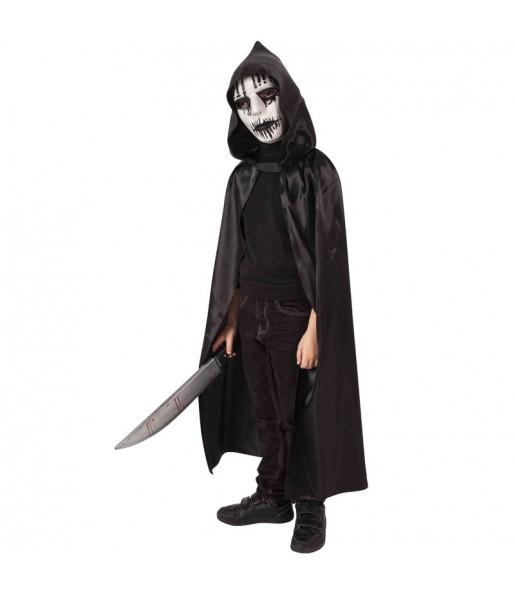 Disfraz de Sanguinario encapuchado para niño
