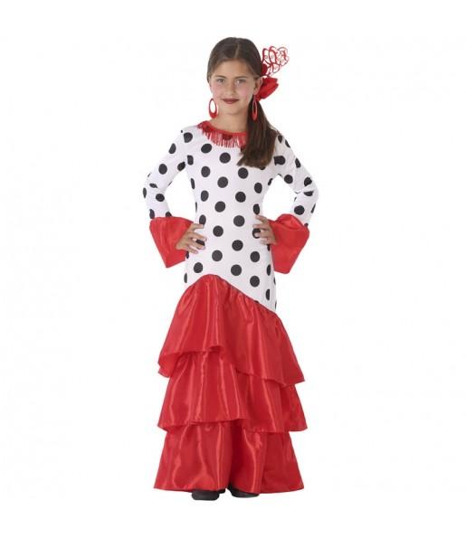 Disfraz de Sevillana Giralda para niña