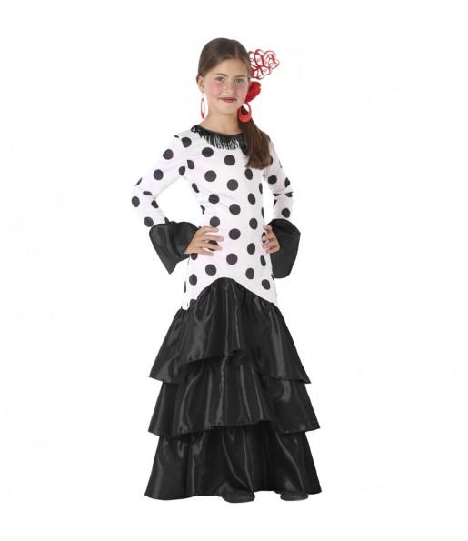 Disfraz de Sevillana Macarena para niña