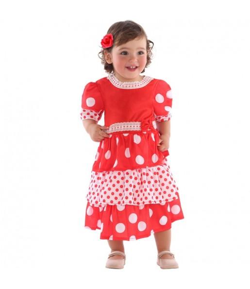 Disfraz de Sevillana para bebé