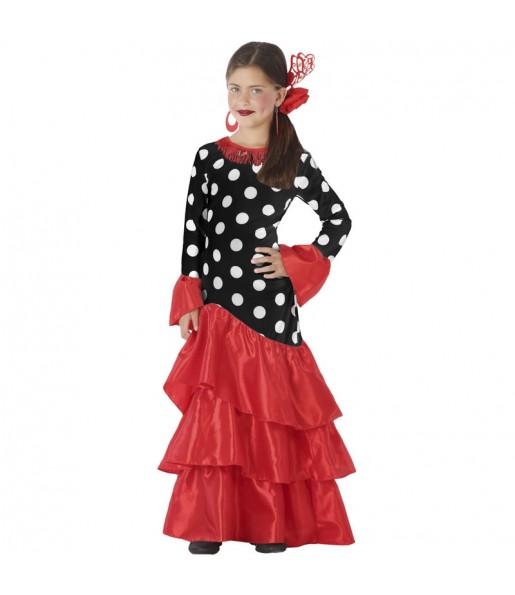 Disfraz de Sevillana Triana para niña