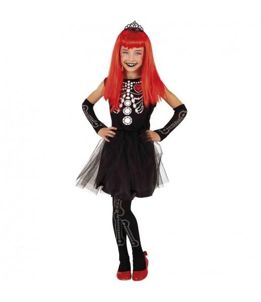 Disfraz de Skelita Tiffany para niña