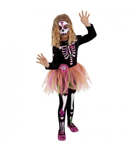 Disfraz de Skelita Tutú para niña