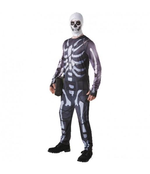 Disfraz de Skull Trooper Fortnite para hombre