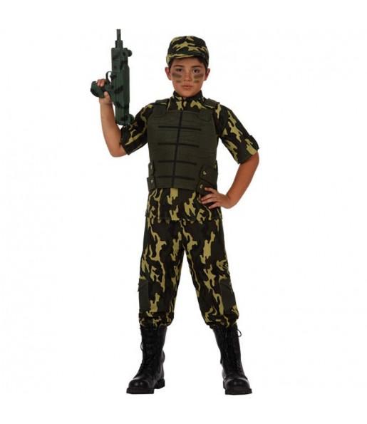 Disfraz de Soldado Camuflaje