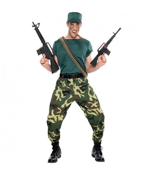 Disfraz de Soldado Paramilitar para hombre
