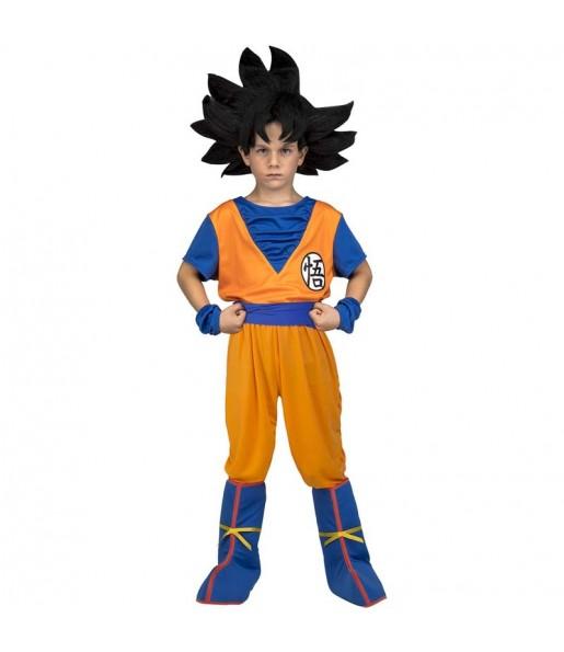 Disfraz de Goku para niño Dragon Ball