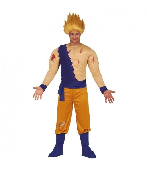 Disfraz de Son Goku Super Saiyan para hombre