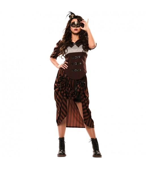 Disfraz de Steampunk Gótica para mujer