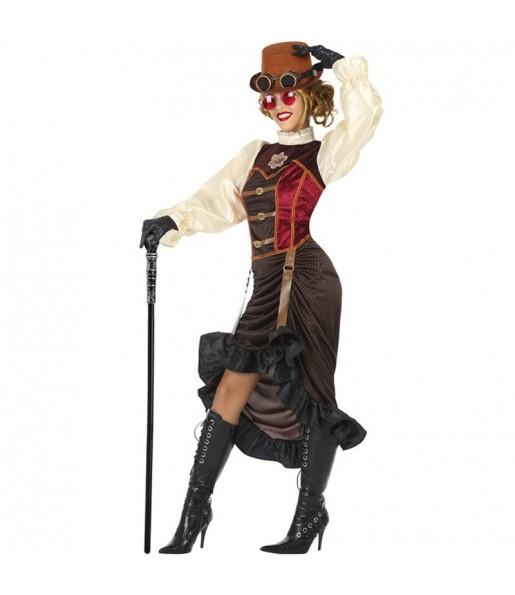 Disfraz de Steampunk Victoriana para mujer