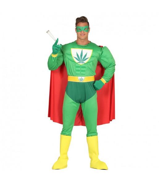 Disfraz de Súper Cogollo Weed Man