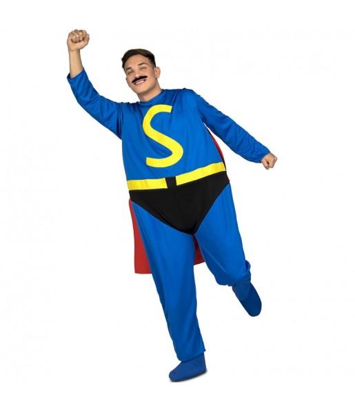 Disfraz Superlópez adulto