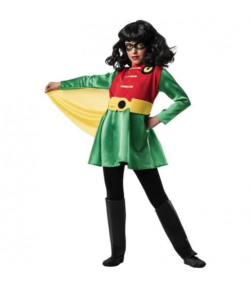 Disfraz de Super Robin para niña
