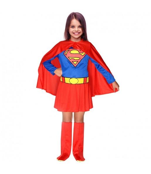 Disfraz de SuperGirl DC Comics® Infantil