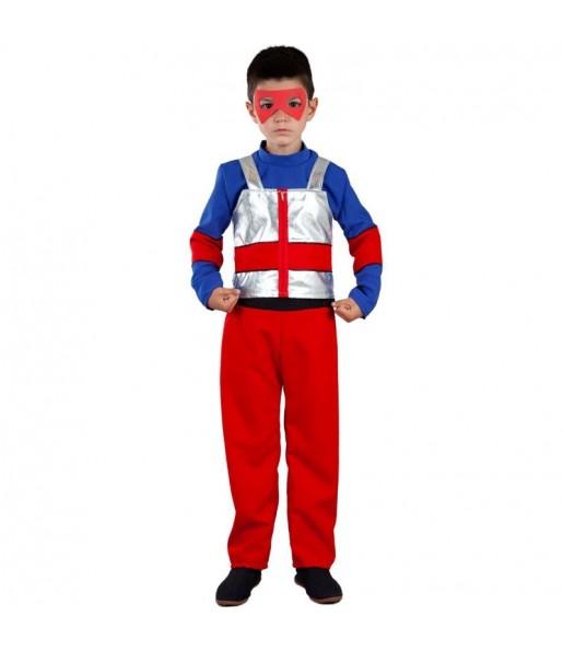 Disfraz de superhéroe Henry Danger para niño